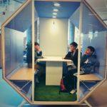 SpacePod: Mobilt grupperum eller teamrum til moderne læringsmiljøer